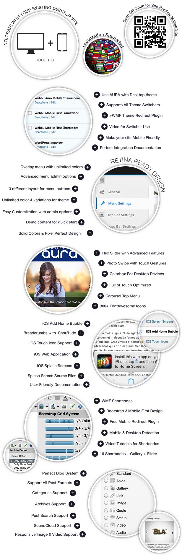Aura Premium Mobile Theme - 2